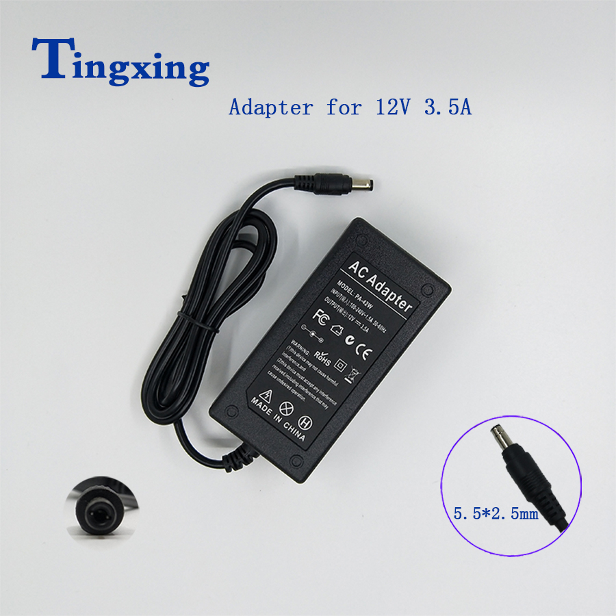 <font><b>12V</b></font> <font><b>3.5A</b></font> Switching <font><b>Power</b></font> <font><b>Supply</b></font> AC DC 12V3.5A Voltage Regulator <font><b>Power</b></font> Adapter image