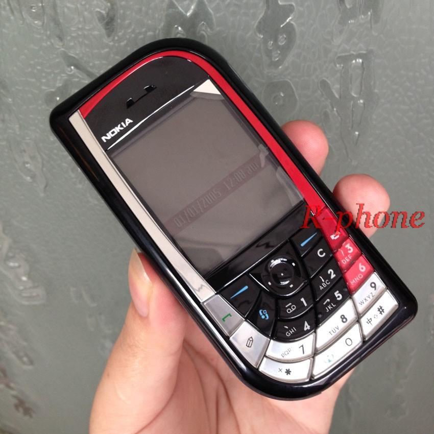 Refurbished phone Nokia 7610 Mobile Phone GSM Tri-Band Camera Bluetooth Smartphone white 1