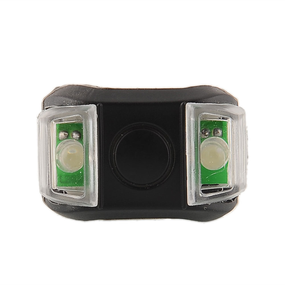 WasaFire Bike Light Bicycle Cycling Silicone Head Front Rear Tail Taillight Lamp Safety Flash Flashlight LED Waterproof Lamps