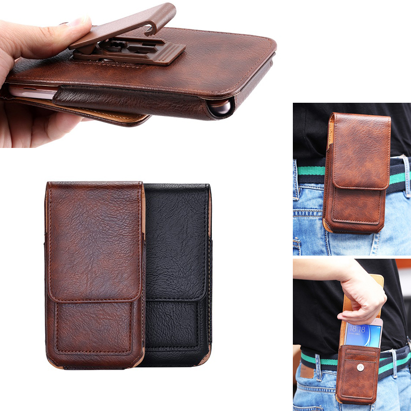 Phone Pouch Cellphones & Telecommunications Trustful Rotary Holster Belt Clip Mobile Phone Leather Case Pouch For Nokia 8,microsoft Lumia 550/950 Xl/640 Xl/640/540,oukitel K6000 Pro Limpid In Sight