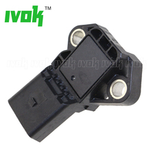 Replaceable 4 BAR Intake Manifold Boost Pressure MAP Sensor Drucksensor For VW Audi 03K906051 0281006059 0281006060