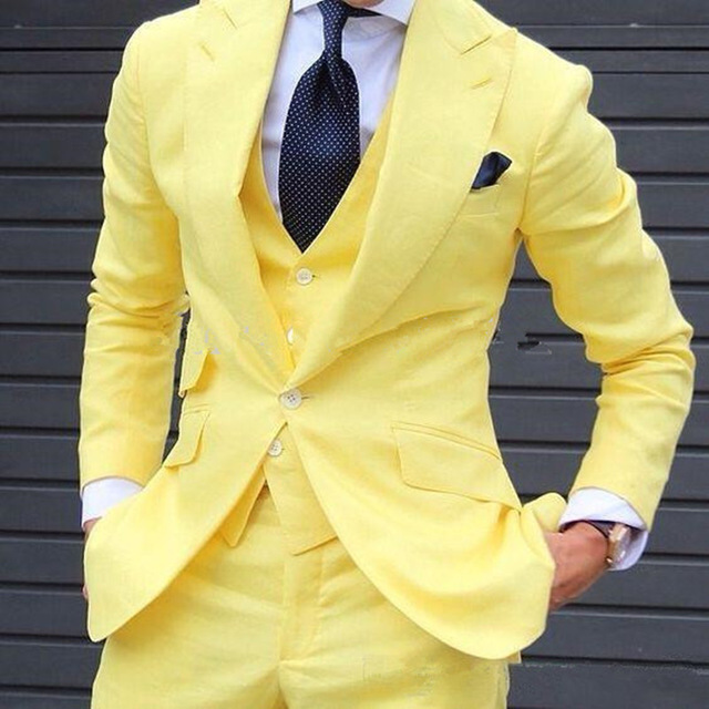 Buy yellow prom tuxedo and get free shipping on AliExpress.com