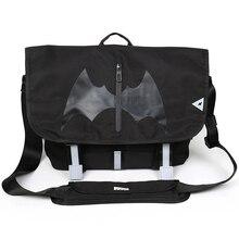 Rejoicing Messenger bag influx of male and female students shoulder bag dead fly package bag influx of men riding bag schoolbag цена