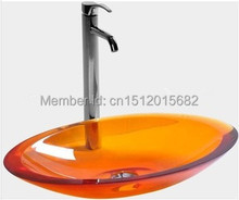 All NEW Colored Resin Acrylic HAND WASH BASIN Vanity sink COUNTER TOP Oval Vessel Sink 2020