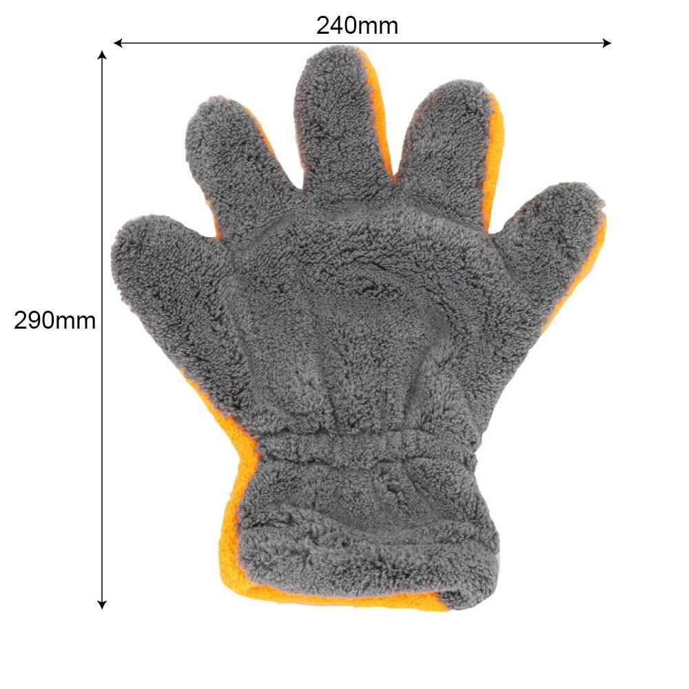 Vehemo автомобили пять пальцев стиральная перчатка для автомойки воском мягкая моющая бытовой химии перчатка для мытья автомобиля очистки