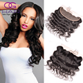 13x4 Peruvian Virgin Hair Lace Frontal Closure Body Wave Full Lace Frontal Closures Free Part Best Lace Frontals with Baby Hair