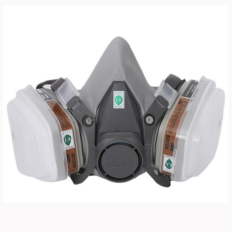 Spray Paint Mask >> Us 18 85 35 Off 11 In 1 Set 3m 6200 Gas Mask Respirator Chemical Spray Paint Pesticide Protection With 6001 Organic Gas Filter Working Mask In
