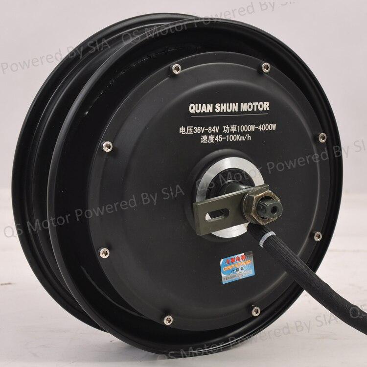 ФОТО 10inch 48v 800w brushless electric car motor