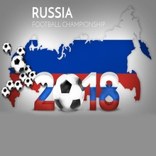 Laeacco Rússia Football Championship Fotográfico Backdrops Para Estúdio de Fotografia Fotografia Fundos Digital Personalizado
