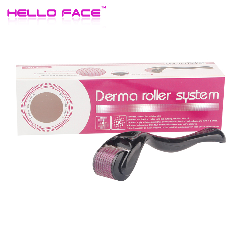 DRS 540 Derma Roller 0.2 0.25mm Needles Mesoroller For Skin Care Hair-loss Treatment Pen