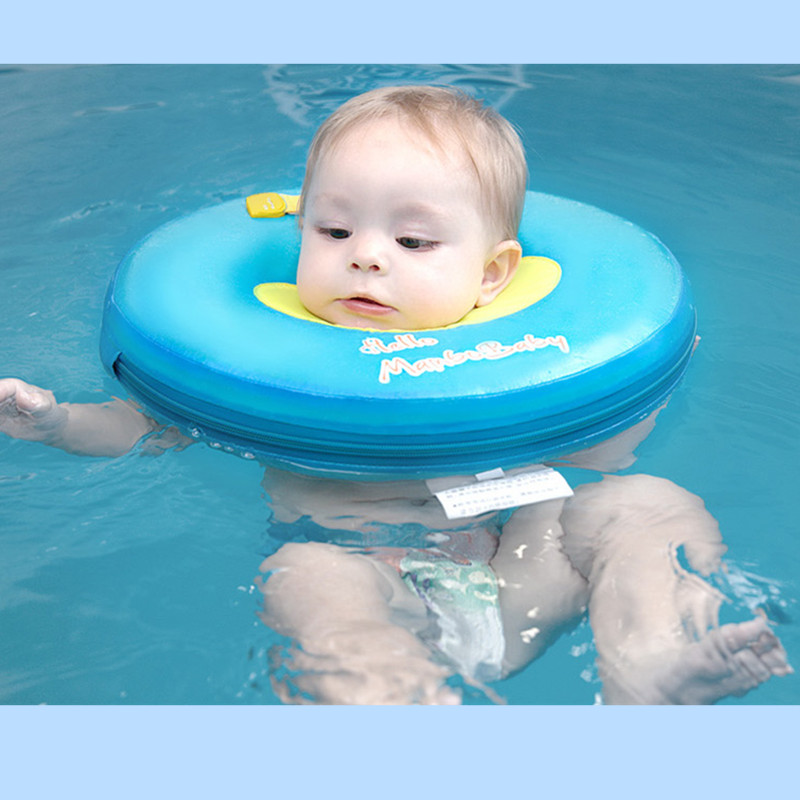 Mambobaby No Need Inflatable Baby Gear Swimming Pool Accessories Swim Neck Ring Baby Tube Ring