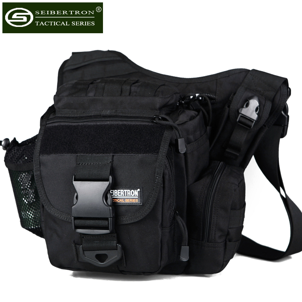 Seibertron 다기능 전술 메신저 여행 배낭 군사 캠핑 여행 하이킹 트레킹 방수 가방