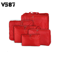 5 Sizes Set Home Travel Clothes Underwear Socks Storage Bags Packing Cube Luggage Bag Organizer For