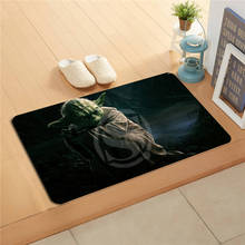 K&!159 Custom Star Wars Yoda #3 Doormat Home Decor Door mat Floor Mat Bath Mats foot pad J-725F159eo