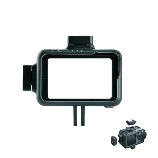 PGYTECH caméra Cage accessoire Protection boîtier cadre boîtier universel Interface extension accessoires pour DJI OSMO Action