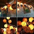 Aladin 20LEDs Cotton Ball Romantic Fairy String Light Lantern Coffee Atmosphere Lights Xmas Party Tree Decor Decoration