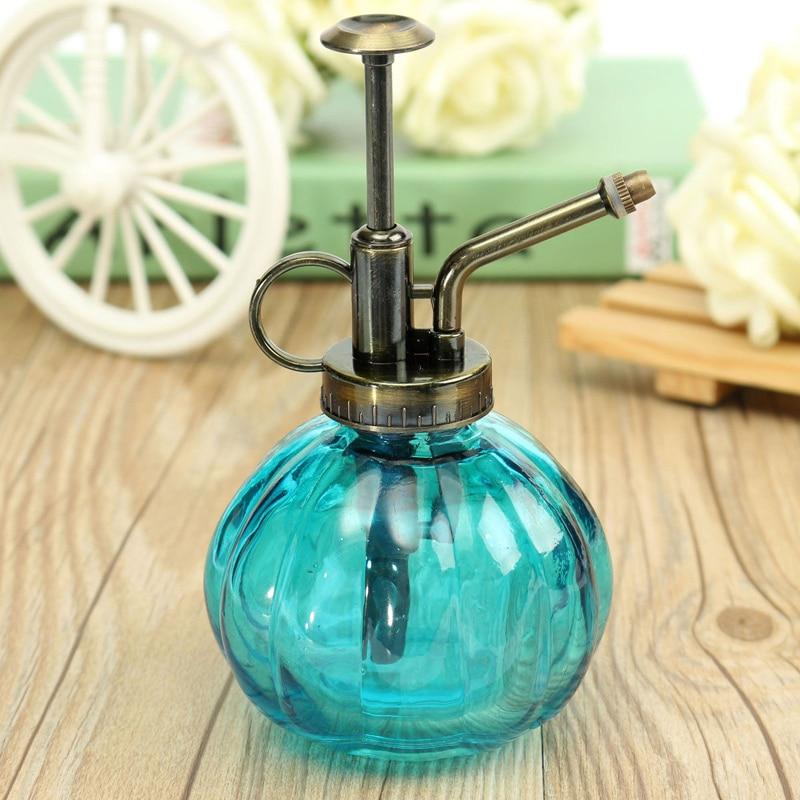 Antique Glass Plant Flower Watering Pot