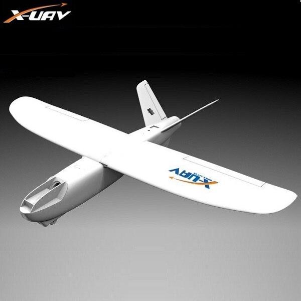 X-uav Mini Talon FPV EPO Envergadura 1300 milímetros V-cauda RC Modelo de Aeronave Avião De Controle Remoto de Rádio kit