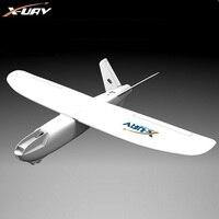 X-uav 미니 탈론 EPO 1300 미리메터 날개 V 꼬리 FPV RC 모델 라디오 원격 제어 비행기 항공기 키트