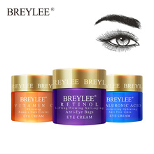 BREYLEE Eye Cream Eyes Serum  Vitamin C Hyaluronic Acid Moisturizing Ageless Retinol Anti Wrinkle Firming Whitening Skin Care