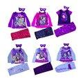 New Baby Девушки Одежда Наборы Ever After Высокая Пижамы Пижамы Костюмы Костюмы для Детей Дети Meninas Roupas Bebes Enfant Мультфильм