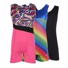 Girls Ballet Dancewear Sleeveless Costumes for Gymnastics Leotards Professional Tutu Dancing Dress