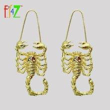 Женские винтажные серьги кольца fj4z сережки с подвеской в виде