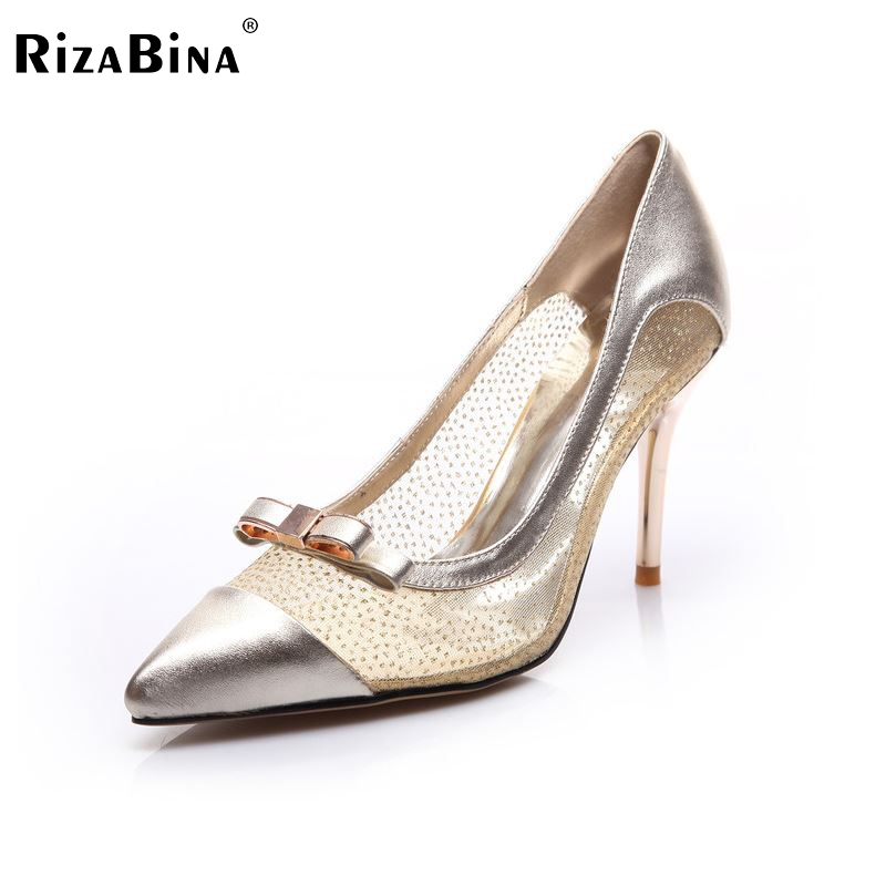 women real genuine leather stiletto pointed toe high heel shoes sexy fashion brand pumps ladies heels shoes size 34-39 R5619 new 2017 spring summer women shoes pointed toe high quality brand fashion womens flats ladies plus size 41 sweet flock t179