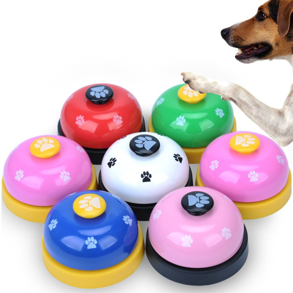 Pet Supplies Dog Trainings For Small Dogs With Big Footprints Button For Outdoor Interactive Playing Puppy Training Clickers