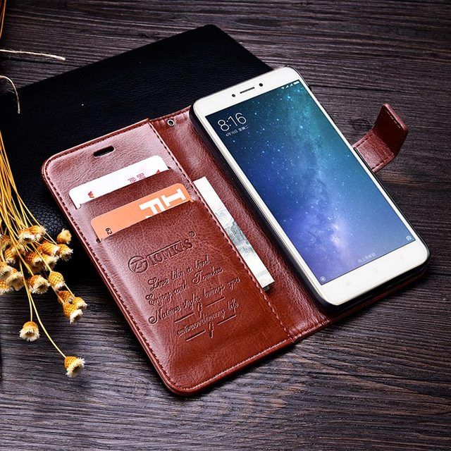 Wallet Flip PU Leather Cover Cases 3