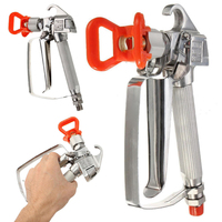 3600PSI Airless Paint Spray Gun With Spray Tip Tip Guard Set For Graco Titan Wagner Sprayer