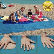 150×200 см волшебный Песок Бесплатный пляжный коврик для кемпинга Открытый пикника большой матрас водонепроницаемый мешок пляжное полотенце Прямая доставка