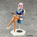 Anime Super Sonic the Animation SUPERSON Acción PVC Figure Sexy Girl Brinquedos Robot Sexual Muñecas de Colección Modelo Juguetes 22 cm