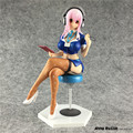 Anime Super Sonic the Animation SUPERSON PVC Action Figure Sexy Girl Brinquedos Sex Robot Dolls Collectible Model Toys 22cm