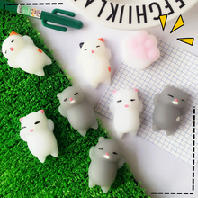 1PCS Cute Lazy Squishy Cats Squeeze Cat Silicone Stress Reliever Decor Toys For Children Adult Renascer Creativity Gift Stickers-in Gags & Practical Jokes from Toys & Hobbies on Aliexpress.com | Alibaba Group