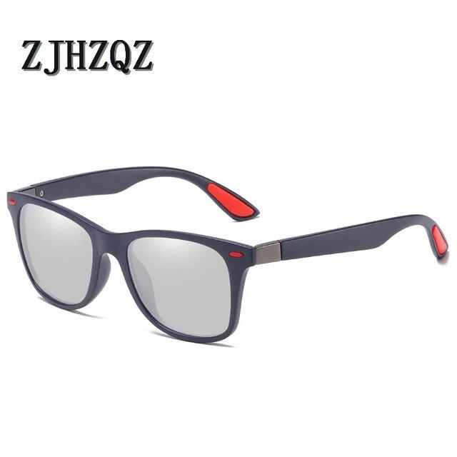 9c880bbaa23a BRAND DESIGN Classic Polarized Photochromatic Mens Sunglasses Women Retro  Driving Vintage Fashion Transition Chameleon Lens