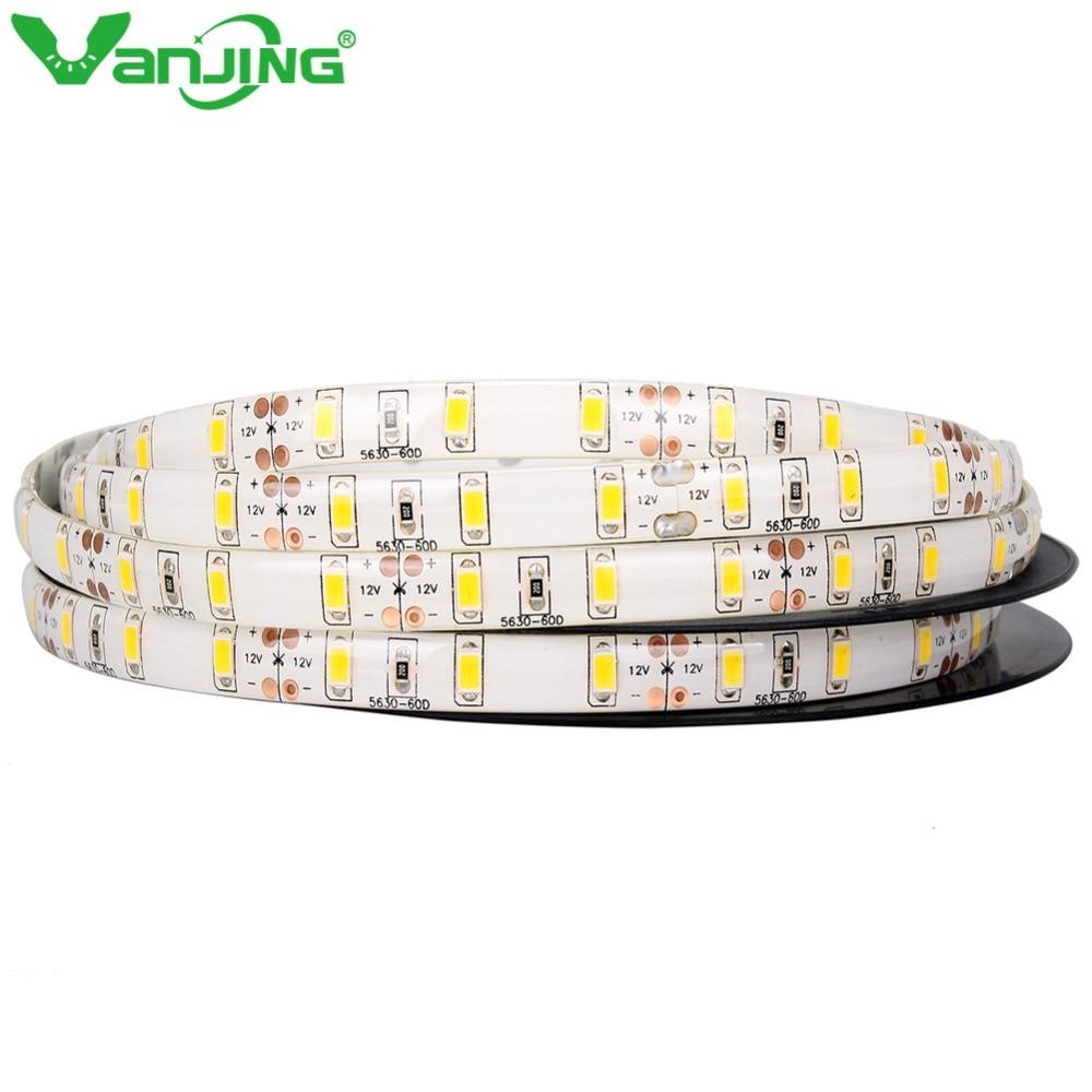 Vízálló 5630 LED csík IP65 LED szalag 5M / 300LED 5630 SMD - LED Világítás