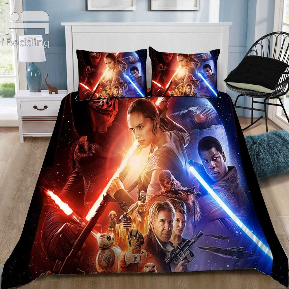 New Star Wars Styles 3D Bedding Set Printed Duvet Cover Set Queen King Twin Size