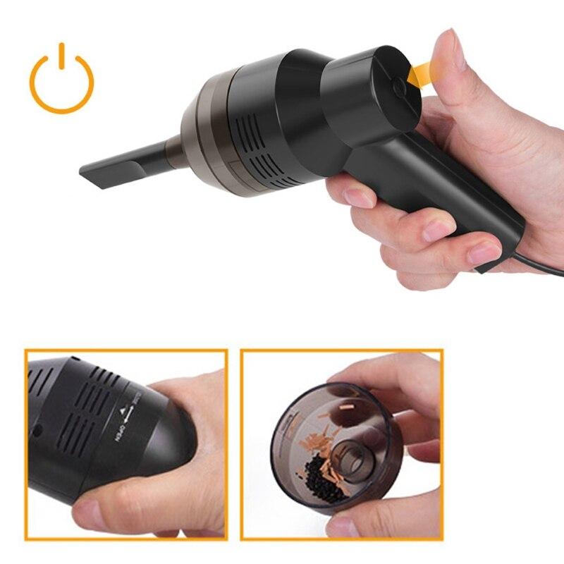 USB Gadgets Mini Cleaner New Mini USB Vacuum Cleaner Computer Keyboard Brush Handheld Dust Cleaning Kit 1