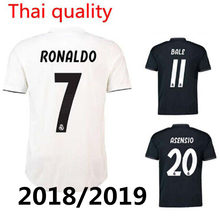 841f9709e49 2019 Adult shirt 2018 Madrided football shirt isco18 19 Realed shirt BALE  BENZEMA 2019 Men t-shirt clothing soccer jersey