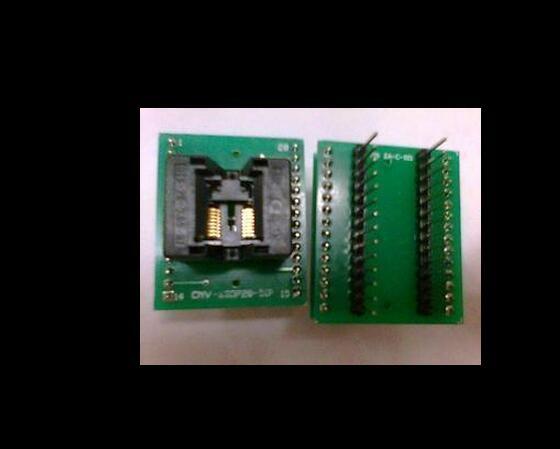 все цены на TSSOP16 ot DIP16/SSOP16 IC test block/adapter/test bench/Burn-in Socket онлайн