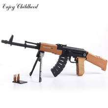 Ausini 22706 617Pcs Military Pistols Air Gun Series AK47 Model Building Block Bricks font b Toys