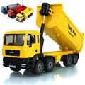 Сплав инженерной автомобиль модели игрушка в подарок коробка все сплава 1:50 самосвал восемь колеса грузовика игрушка модель детские игрушки подарок