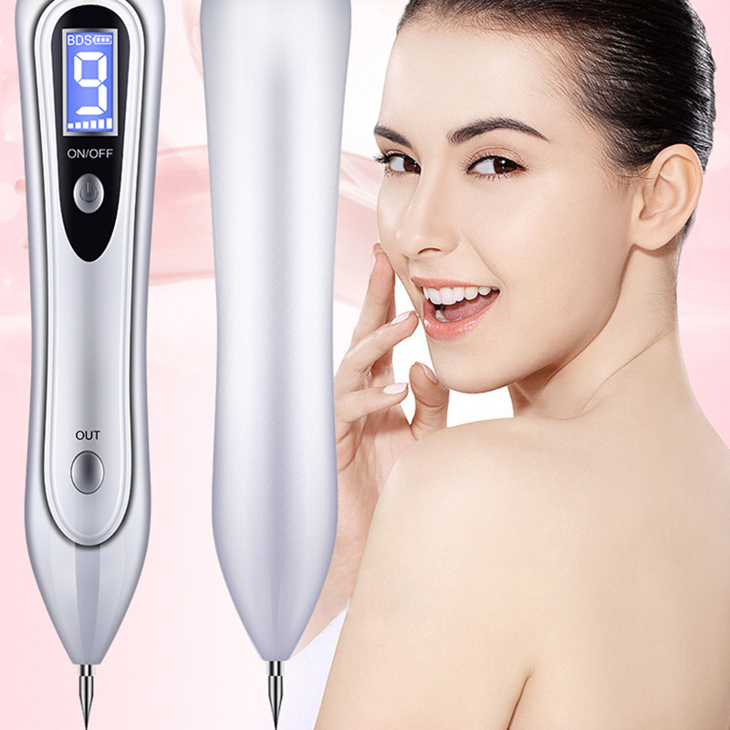 2019 Latest Design Beauty Instrument Laser Freckle Removal Machine Skin Mole Removal Dark Spot Remover For Face Wart Tag Tattoo Remaval Pen Salon Warm And Windproof