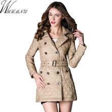 2017 Full Special Offer Winter Jacket Women Coat Warm Outwear Diamond Lattice Padded Cotton Womens Clothing Feminina Jaqueta