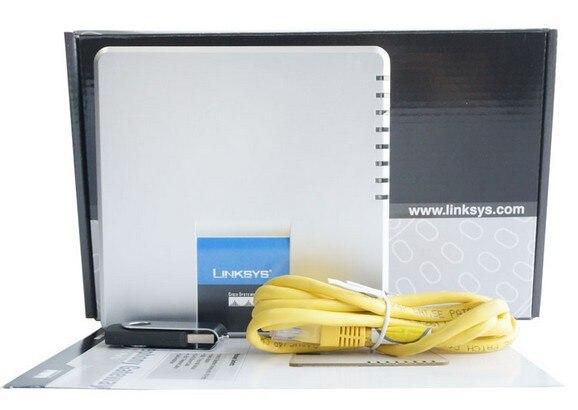 Livraison gratuite! expédition avec boîte de vente d'origine déverrouillée Linksys SPA400 IP PBX Internet 4 Ports FXO boîte vocale adaptateur de téléphone VoIP