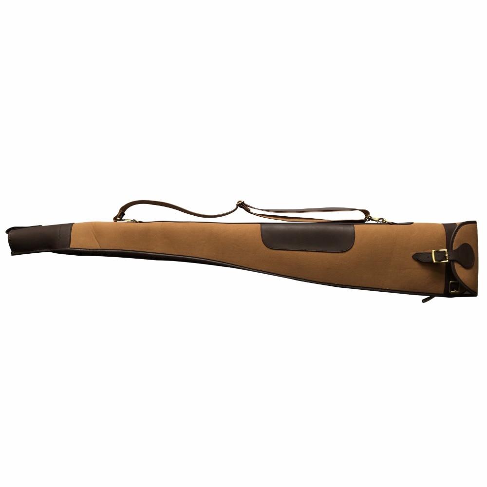 Tourbon Vintage Shotgun Case Canvas Gun Slip Padded Қорғаушы - Спорттық сөмкелер - фото 2