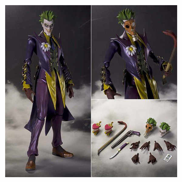 SHF Batman O Coringa INJUSTIÇA ver. PVC Action Figure Collectible Modelo Toy 15 centímetros Encaixotado