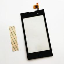 Новый сенсорный экран для ZTE Kis 2 max V815W V815 касания стеклянный черный запасные части Бесплатная доставка