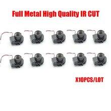 Free shipping 10pcs/lot Full Metal High Quality CCTV Camera IP camera Module Accessories M12*0.5 MTV Mount Lens IR-Cut Filter,
